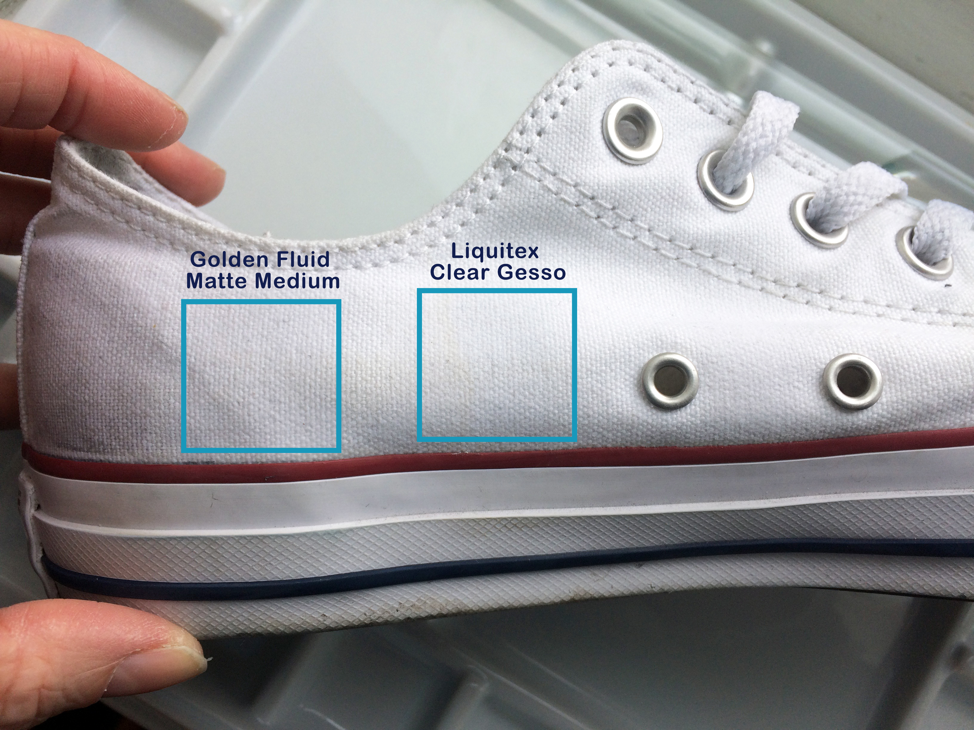 Converse – Drawing on sneakers – H Locke